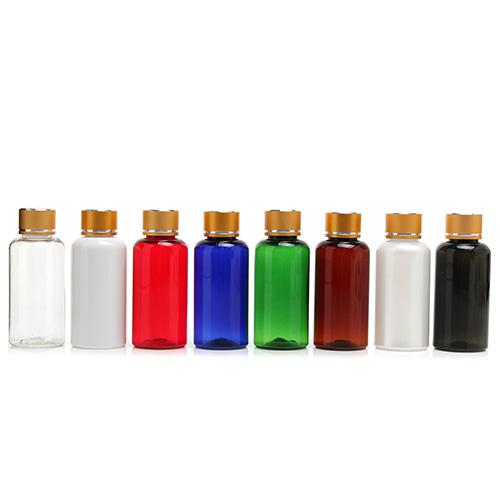 ボトル「化粧品容器」金属ネジキャップ T60 (770個)